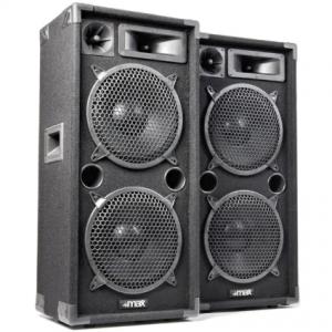 MAX SkyTec MAX210 disco speakerset 2x 10 2000W
