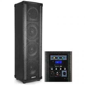 Vonyx LM65 LightMotion actieve Bluetooth speaker 400W met LED lichtshow