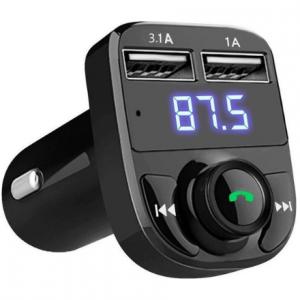 Elqing EQ FM Transmitter Bluetooth - Draadloze Carkit