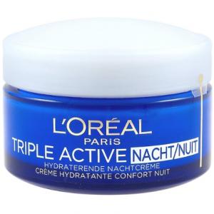 L'Oréal Paris Triple Active Nachtcrème anti rimpel creme