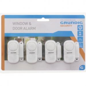 Grundig alarmset - Deur en raam - 4stuks - Inbraakpreventie