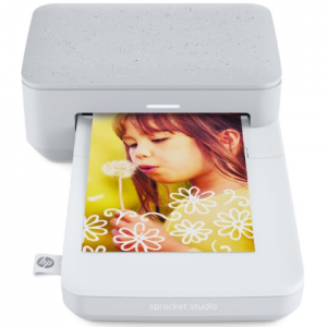 HP Sprocket Studio Snow fotoprinter