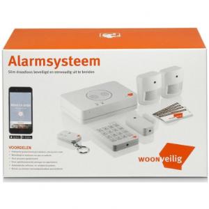 WoonVeilig Alarmsysteem - Startpakket voor complete huisbeveiliging - beste huis alarmsysteem