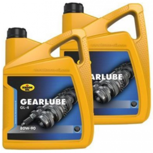 2 x Kroon-Oil Gearlube GL-4 80W90 5L