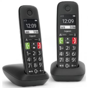 Gigaset E290E - Duo Senioren DECT telefoon